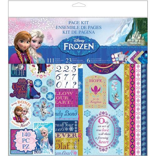 EK Success - Disney Collection - Frozen - 12 x 12 Page Kit