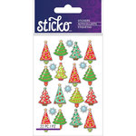 EK Success - Sticko - Epoxy Stickers - Mini - Christmas Trees