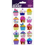 EK Success - Sticko - Stickers - Electric Cupcakes