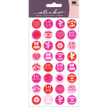 EK Success - Sticko - Stickers - Kiss Seals