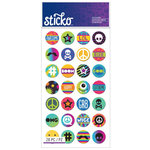 EK Success - Sticko - Stickers - Words and Icon - Circle