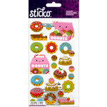 EK Success - Sticko - Stickers - Donut Characters
