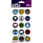 EK Success - Sticko - Stickers - Bottlecap Icon - Words