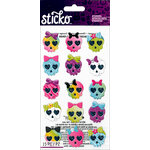 EK Success - Sticko - Stickers - Girly Skulls