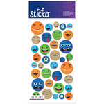 EK Success - Sticko - Stickers - Smiley Face Characters