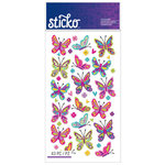 EK Success - Sticko - Stickers - Spicier Butterflies
