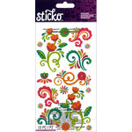 EK Success - Sticko - Stickers - Bright Flourishes