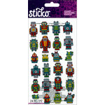 EK Success - Sticko - Stickers - Mini Robots