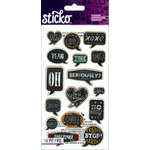 EK Success - Sticko - Chalkboard Stickers - Quotes
