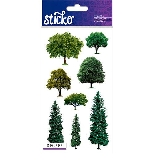 EK Success - Sticko - Stickers - Trees