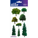 EK Success - Sticko - Stickers - Trees