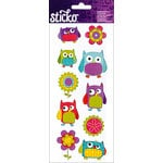 EK Success - Sticko - Stickers - Flower Owl