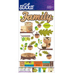 EK Success - Sticko - Sticker Flip Pack - Family