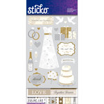 EK Success - Sticko - Sticker Flip Pack - Wedding