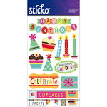EK Success - Sticko - Sticker Flip Pack - Birthday
