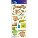 EK Success - Sticko - Stickers - Icons and Words - Large - Family