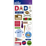 EK Success - Sticko - Stickers - Icons and Words - Large - Dad