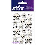 EK Success - Sticko - Epoxy Stickers - Mini - Skulls