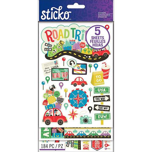 EK Success - Sticko - Stickers - Flip Pack Road Trip