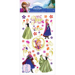 EK Success - Disney Collection - Frozen - Stickers - Anna and Flowers