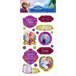 EK Success - Disney Collection - Frozen - Stickers - Anna and Elsa Sisters