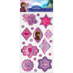 EK Success - Disney Collection - Frozen - Epoxy Stickers - Phrases Anna