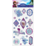 EK Success - Disney Collection - Frozen - Epoxy Stickers - Phrases Elsa