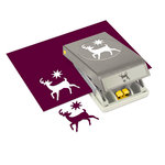 EK Success - Paper Shapers - Slim Profile - Large Punch - Elegant Deer