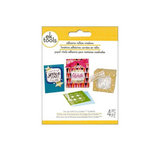 EK Success - Adhesive Vellum Windows - Square - 4 Pack