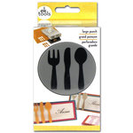 EK Success - Paper Shapers - Slim Profile - Large Punch - Utensils