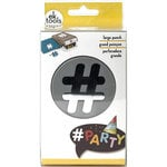 EK Success - Paper Shapers - Slim Profile - Large Punch - Double Hashtag
