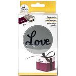 EK Success - Paper Shapers - Slim Profile - Large Punch - Double Love Word
