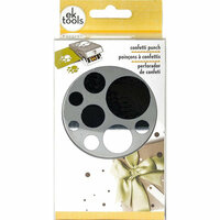 EK Success - Paper Shapers - Slim Profile - Large Punch - Round Confetti Dots
