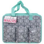 Everything Mary - Makers Carry All Tote - Grey and Green