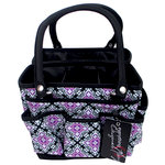Everything Mary - Fold Open Organizer - Black and Purple