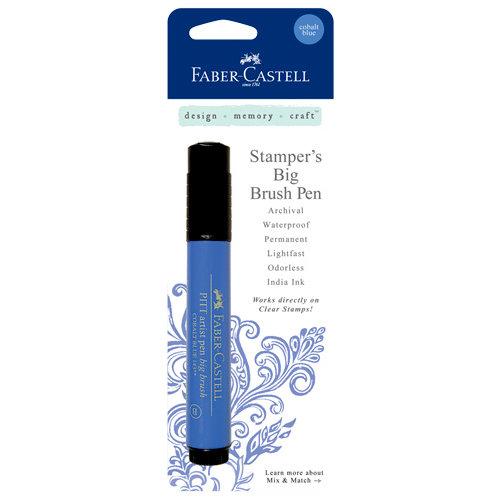 Faber-Castell - Stampers Big Brush Pen - Cobalt Blue