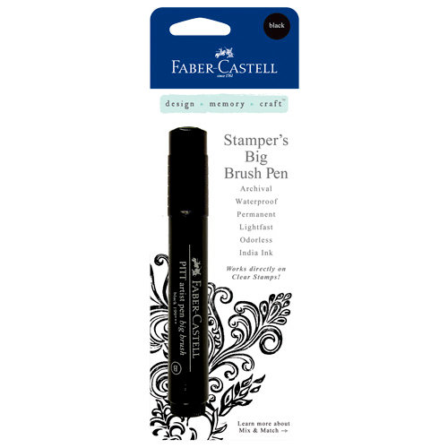 Faber Castell Big Brush Marker - Black