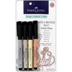 Faber-Castell - Mix and Match Collection - Pitt Artist Pens - Subtle - 3 Piece Set
