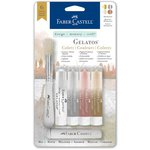 Faber-Castell - Mix and Match Collection - Color Gelatos - Manhattan - 6 Piece Set