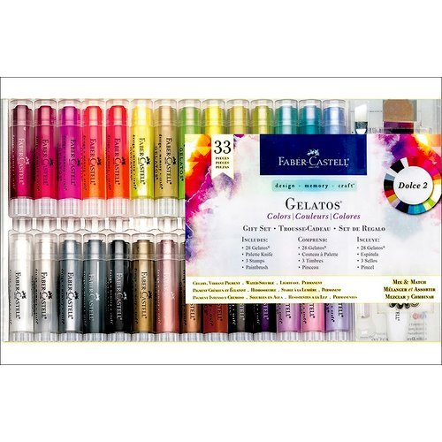 Faber-Castell - Mix and Match Collection - Color Gelatos - Dolce 2 - 33 Piece Gift Set
