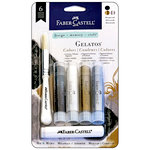 Faber-Castell - Mix and Match Collection - Color Gelatos - Masquerade - 6 Piece Set