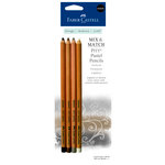 Faber-Castell - Mix and Match Collection - Pitt Pastel Pencils - Neutral - 4 Piece Set