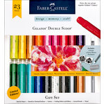 Faber-Castell - Mix and Match Collection - Color Gelatos - Double Scoop - 23 Piece Gift Set