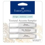 Faber-Castell - Mix and Match Collection - Textural Accents Sampler - 3 Piece Set