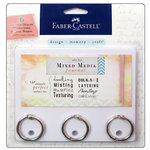 Faber-Castell - Mix and Match Collection - Journal Boards With 3 Split Rings