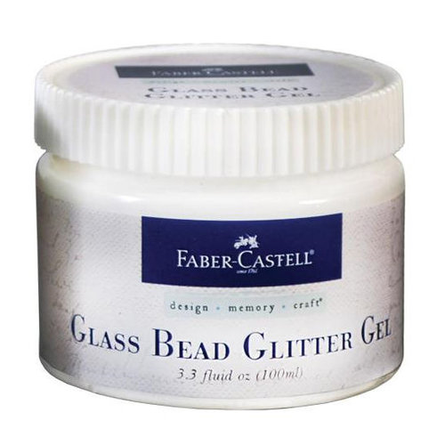 Faber-Castell - Mix and Match Collection - Prep and Finish Glass Bead Glitter Gel