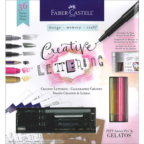 Faber-Castell - Mix and Match Collection - Kit - Creative Lettering