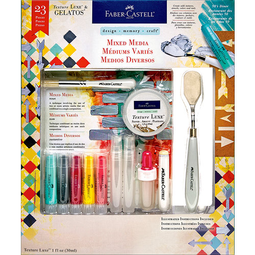 Faber-Castell - Mix and Match Collection - Kit - Mixed Media - 50