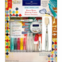 Faber-Castell - Mix and Match Collection - Kit - Mixed Media - 50's Diner