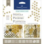 Faber-Castell - Mix and Match Collection - Mixed Media Stencils - Graphics
